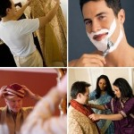 Men wedding grooming
