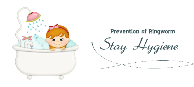 Prevention of ringworm