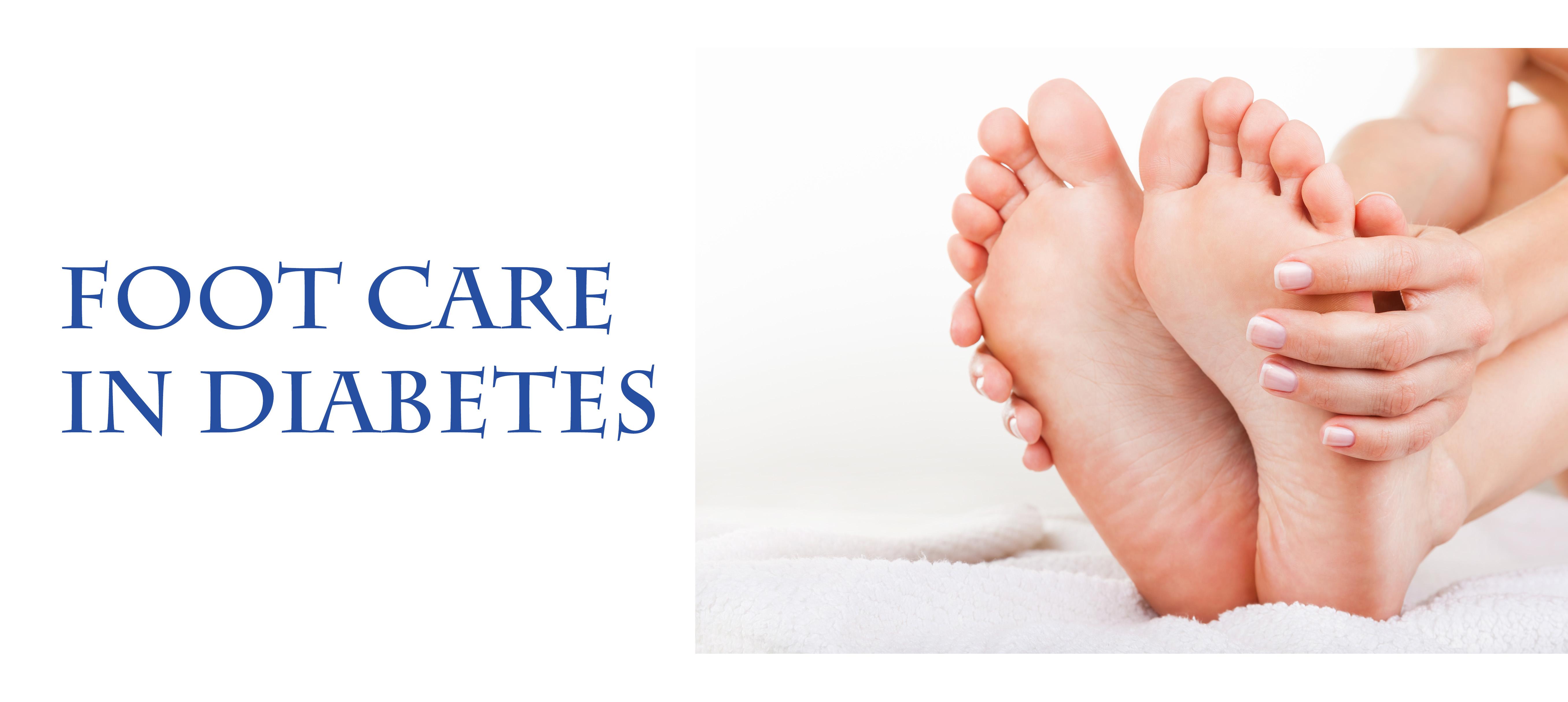 Foot Care in Diabetes