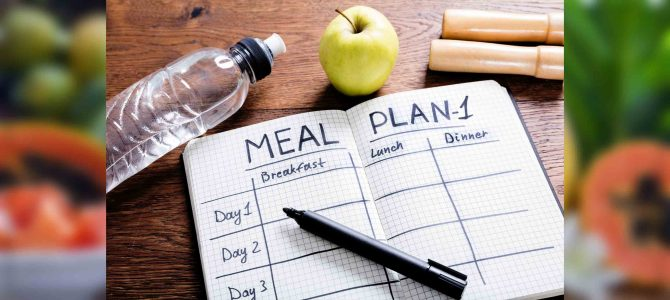 Balanced Sample Meal Plan-1 for Healthy Individuals