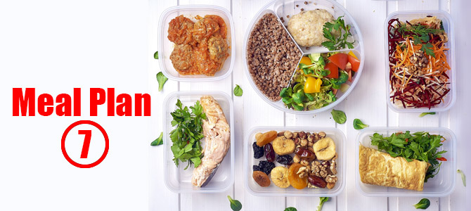 Balanced Sample Meal Plan-7 for Healthy Individuals