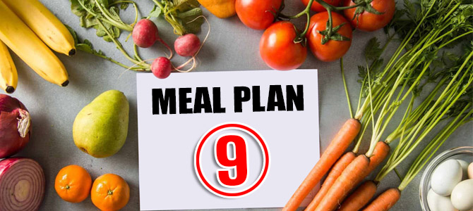 Balanced Sample Meal Plan-9 for Healthy Individuals