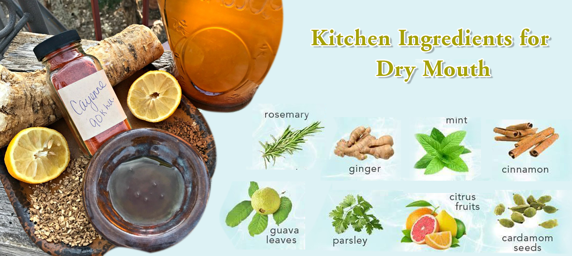 15 Instant Remedies for Dry Mouth in your Kitchen