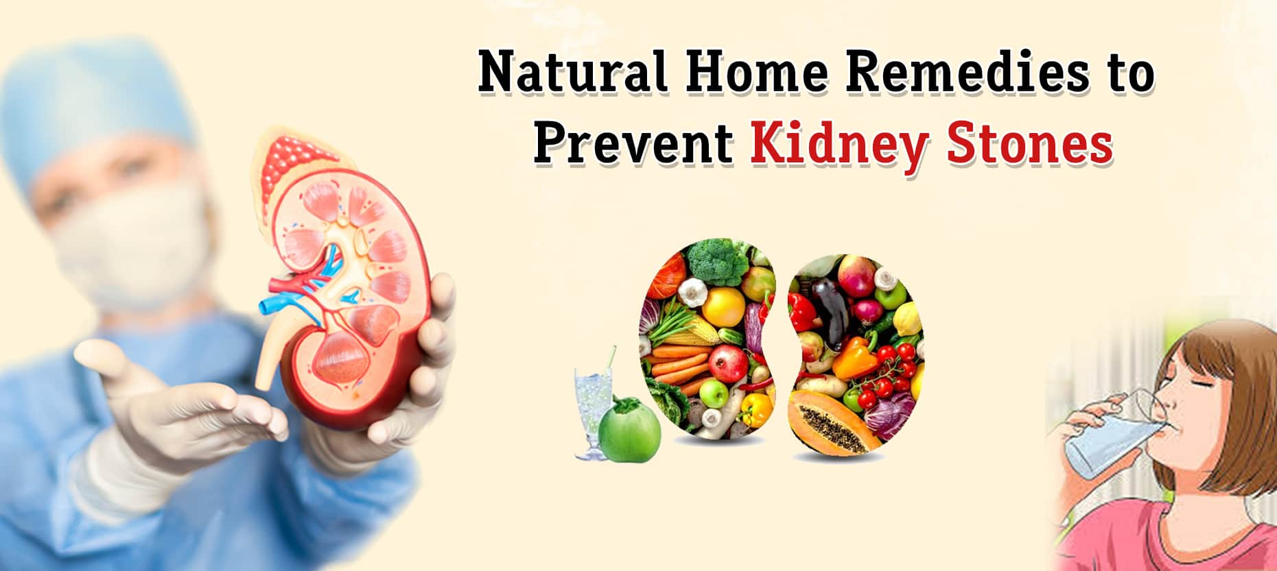 Natural Home Remedies to Prevent Kidney Stones