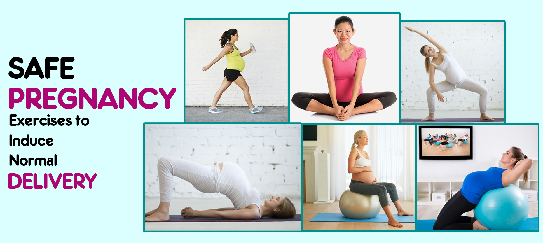 Safe Pregnancy Exercises to Induce Normal Delivery