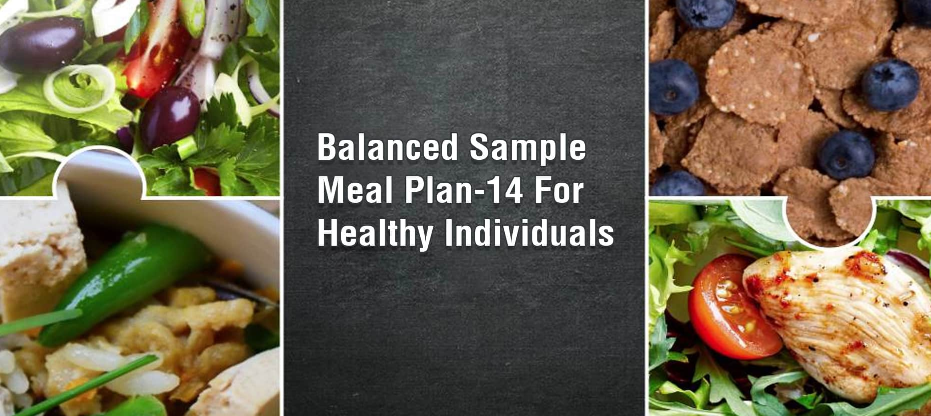 Balanced Sample Meal Plan-14 For Healthy Individuals
