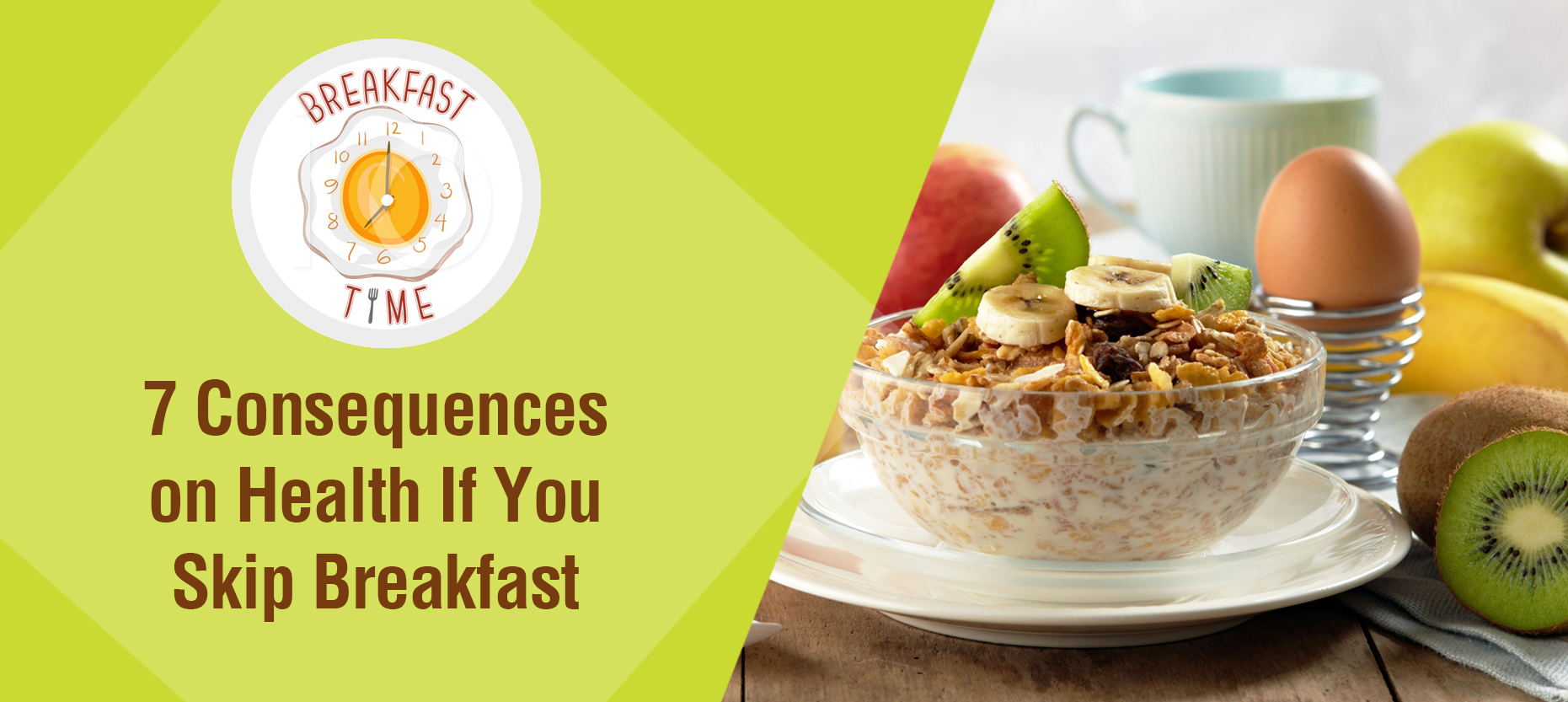 7 Consequences on Health If you Skip Breakfast