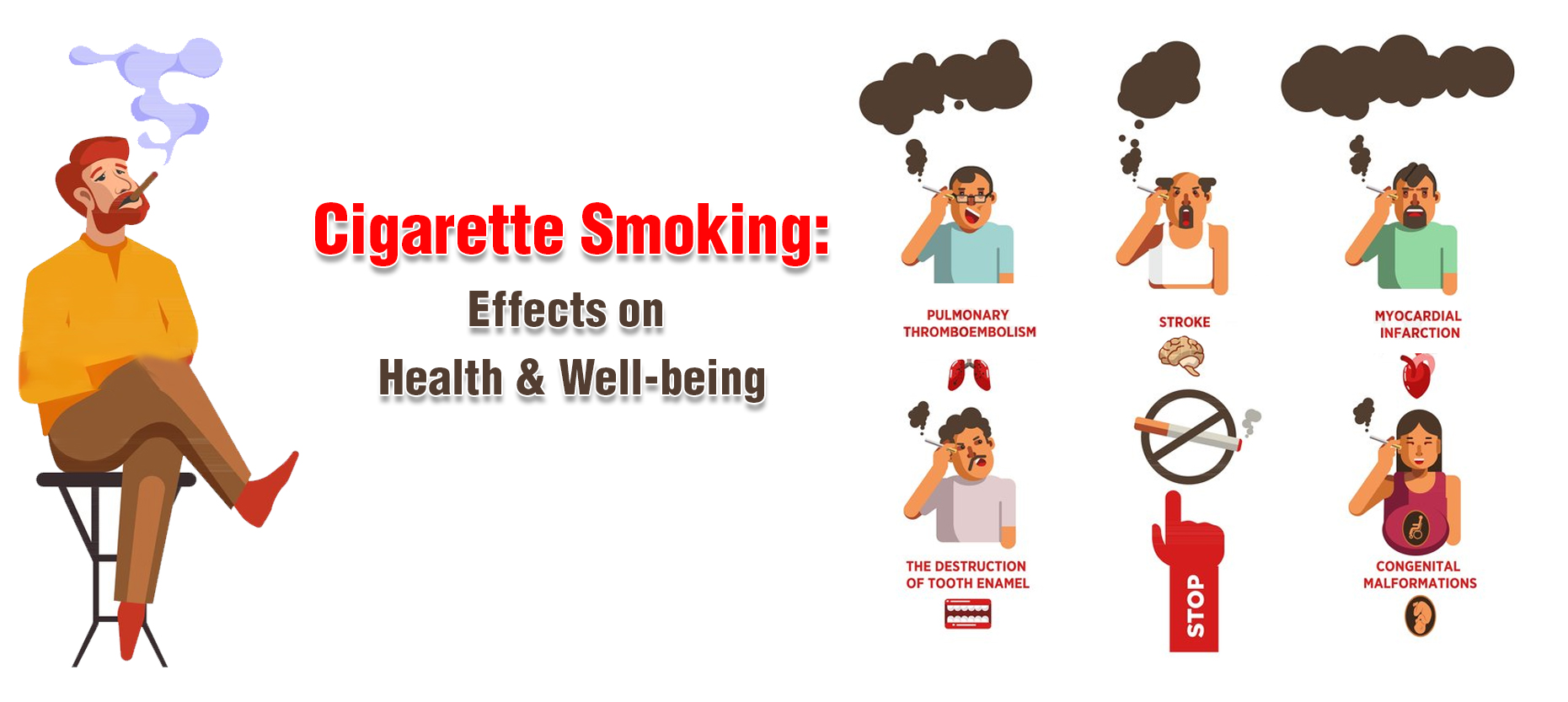 Cigarette Smoking: Effects on Health & Well-being