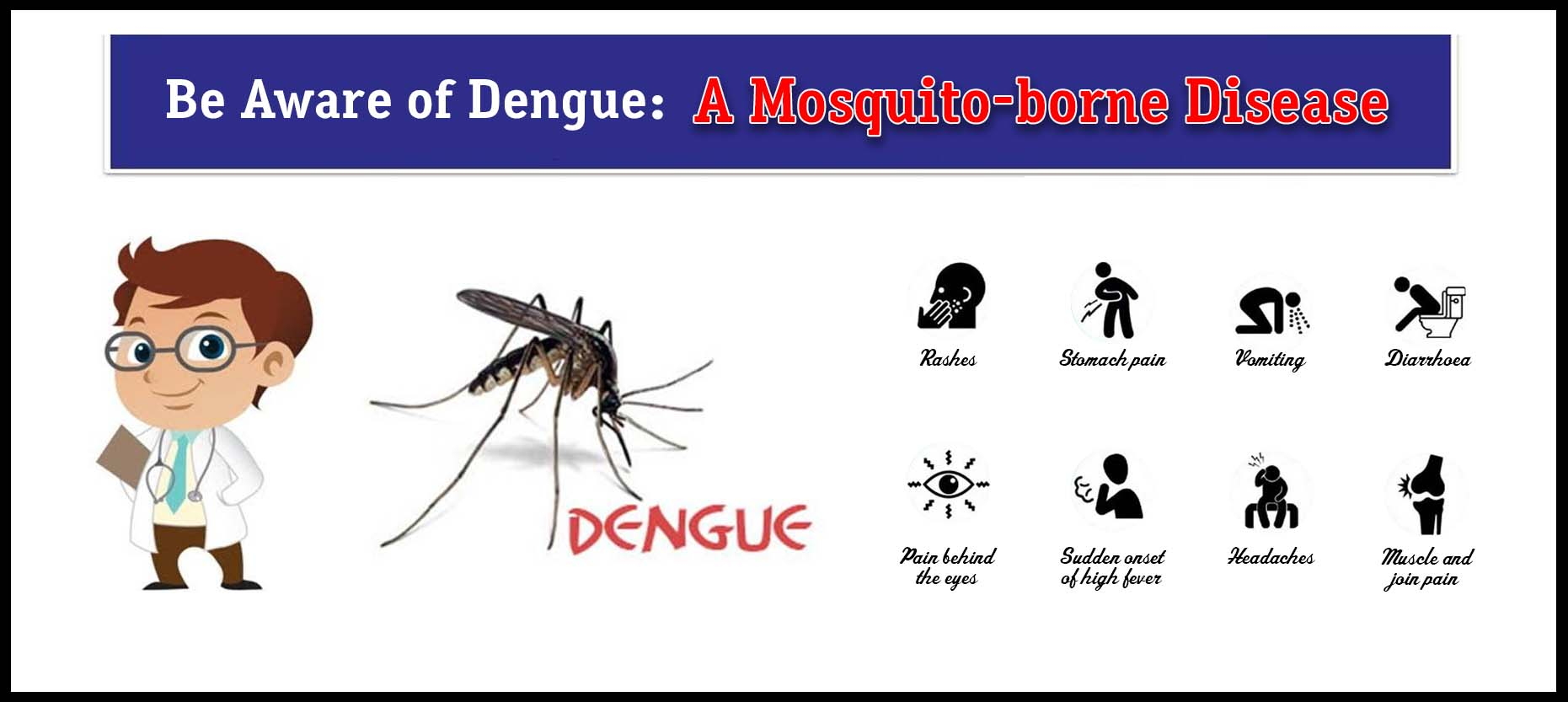 Be Aware of Dengue: A Mosquito-borne Disease