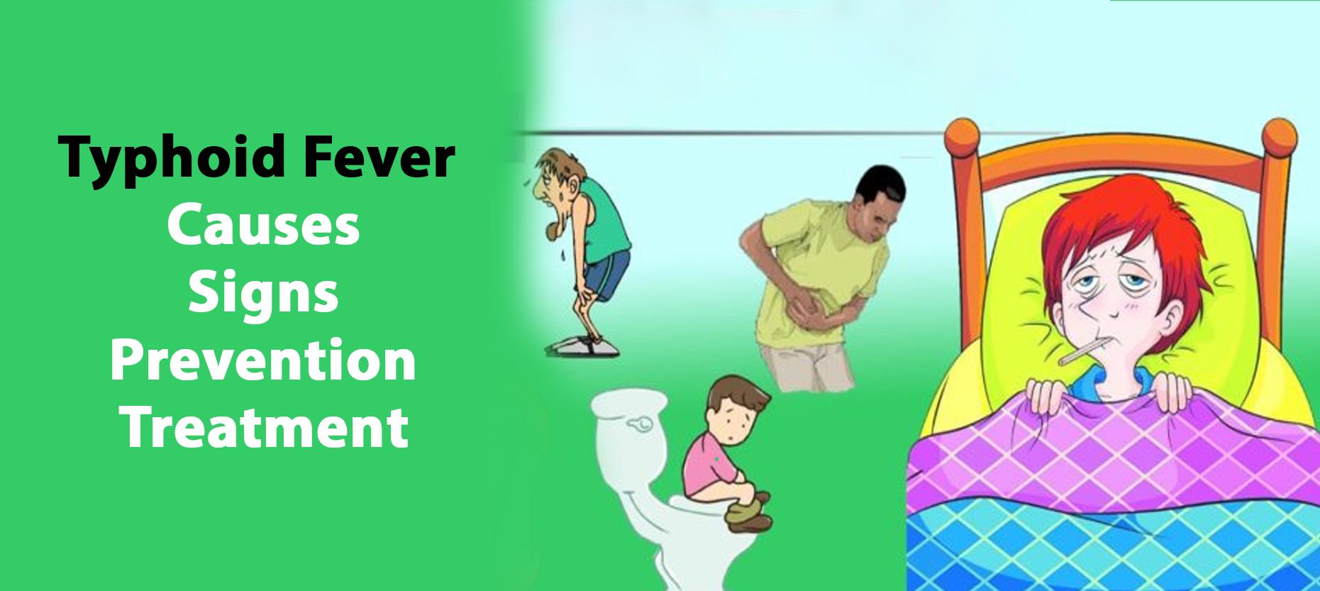 Typhoid Fever – Signs & Symptoms, Treatment, Precautions, Complications