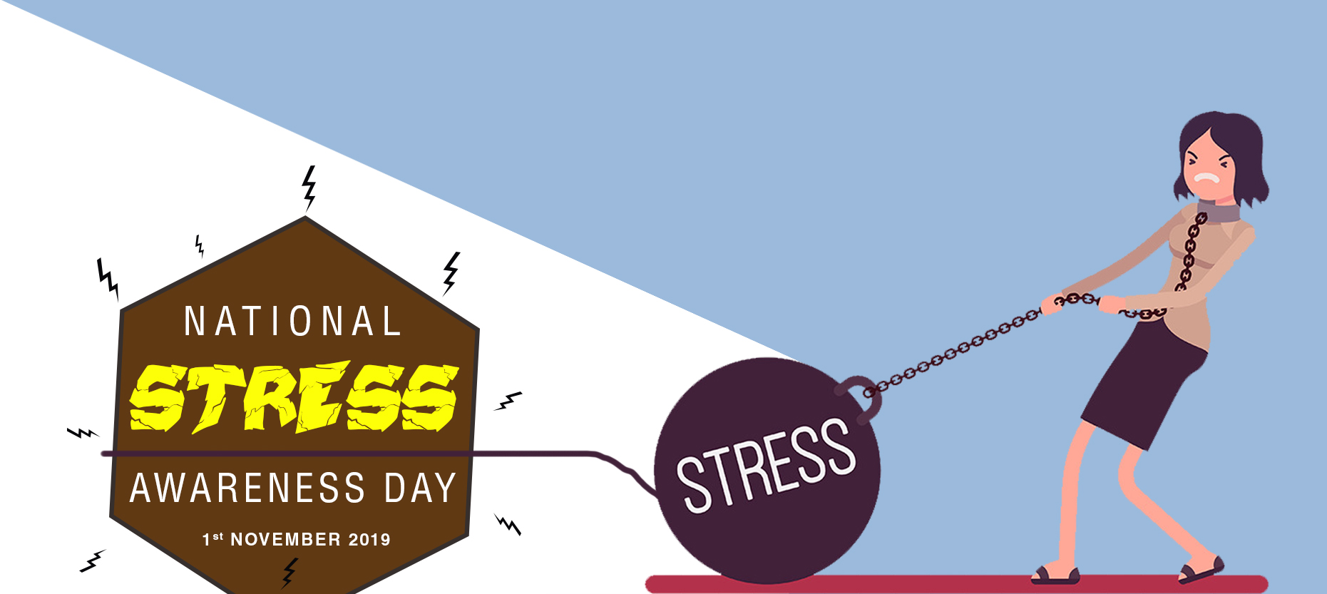 National Stress Awareness Day- First Aid for Stress