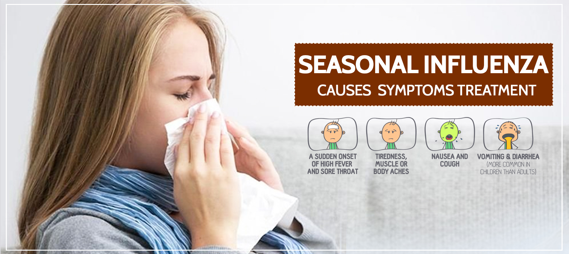 Seasonal Influenza: Causes, Symptoms, and Treatment