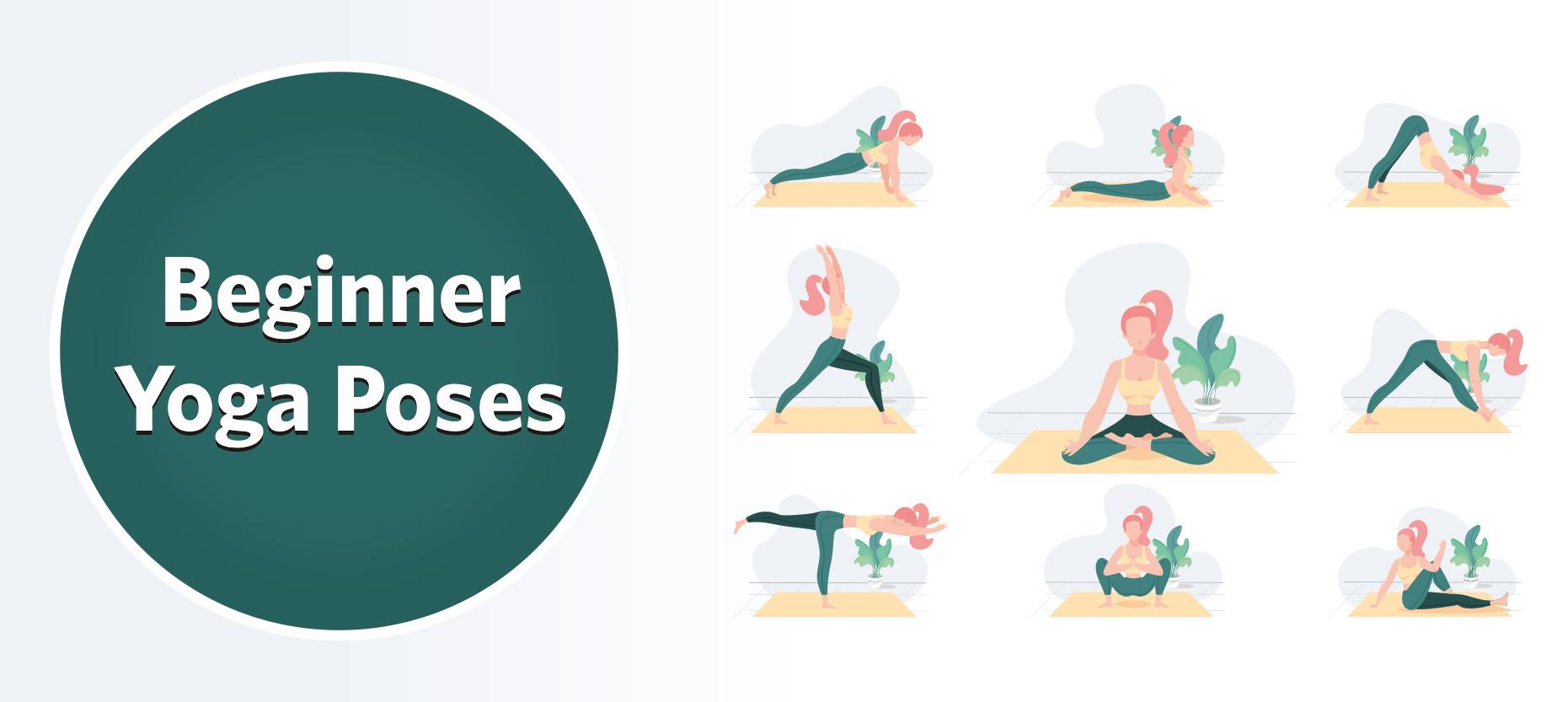 Basic Yoga Asanas for Beginners: Benefits and Contraindications