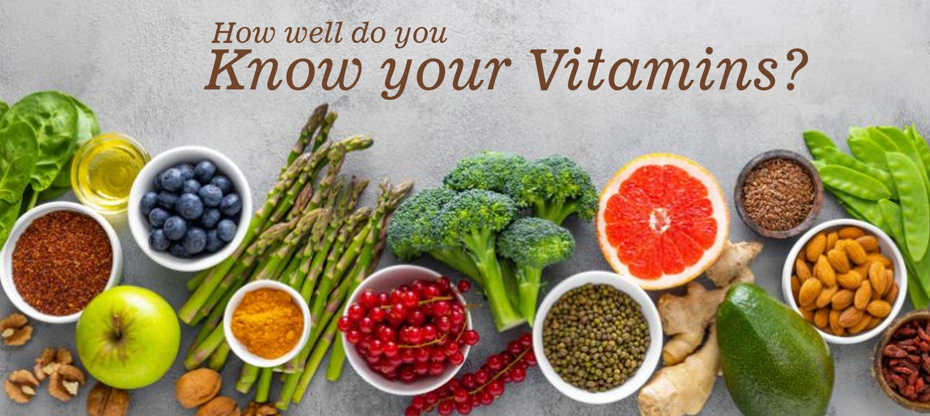 Know your Vitamins?